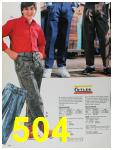 1988 Sears Fall Winter Catalog, Page 504