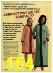 1972 Sears Fall Winter Catalog, Page 154