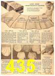 1956 Sears Fall Winter Catalog, Page 435