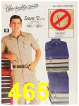 1987 Sears Spring Summer Catalog, Page 465
