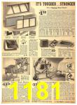 1940 Sears Fall Winter Catalog, Page 1181
