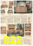 1958 Sears Spring Summer Catalog, Page 822