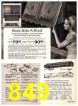 1969 Sears Spring Summer Catalog, Page 849
