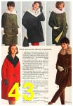 1963 Sears Fall Winter Catalog, Page 43
