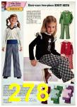 1975 Sears Fall Winter Catalog, Page 278