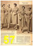 1958 Sears Spring Summer Catalog, Page 57