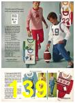 1971 Sears Fall Winter Catalog, Page 139