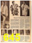 1964 Sears Spring Summer Catalog, Page 645