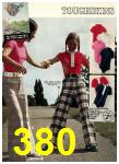 1974 Sears Spring Summer Catalog, Page 380