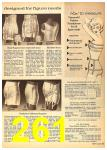 1962 Sears Fall Winter Catalog, Page 261