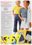 1972 Sears Spring Summer Catalog, Page 357