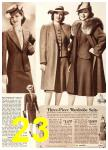1940 Sears Fall Winter Catalog, Page 23