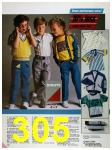 1986 Sears Spring Summer Catalog, Page 305