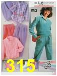 1986 Sears Fall Winter Catalog, Page 315