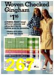 1974 Sears Spring Summer Catalog, Page 267