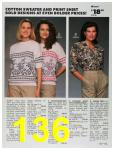 1991 Sears Fall Winter Catalog, Page 136