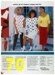 1986 Sears Spring Summer Catalog, Page 70