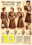1940 Sears Fall Winter Catalog, Page 53